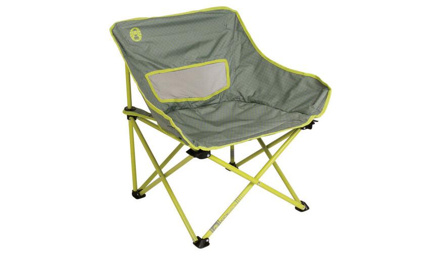 Coleman Kickback Breeze - Siège camping - jaune/gris